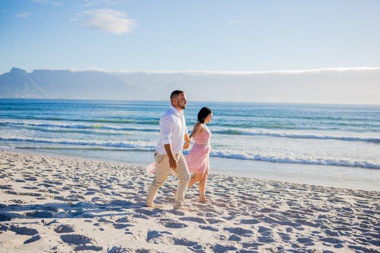 Dolphin Beach Engagement - (5)
