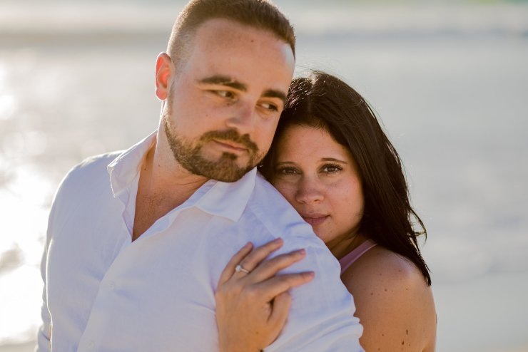 Dolphin Beach Engagement - (9)