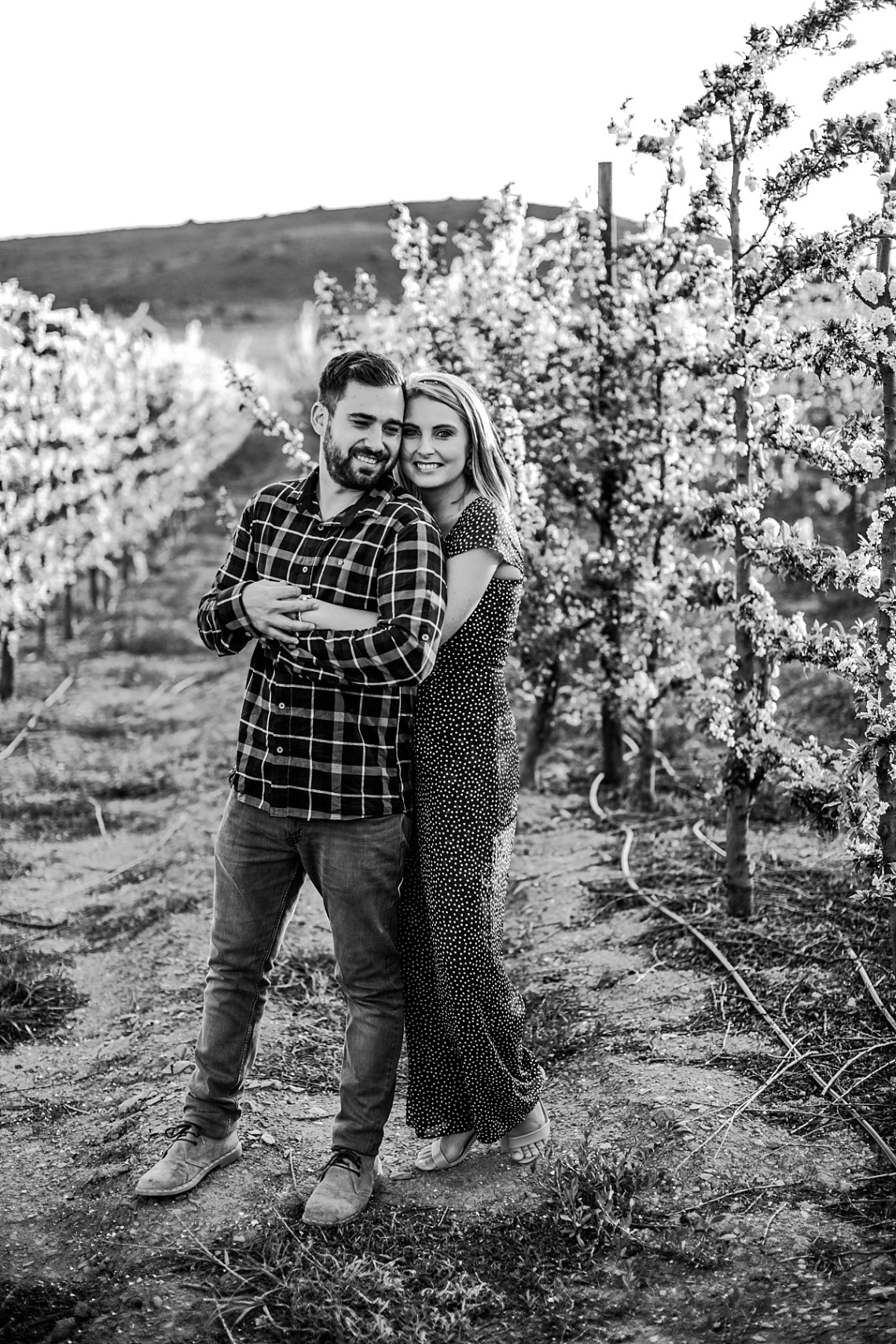 engagement shoot in overberg