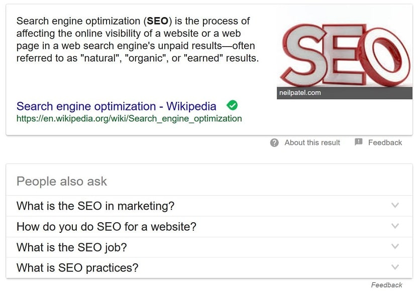 Eden Praire MN SEO, Minneapolis SEO Search, Featured snippet example