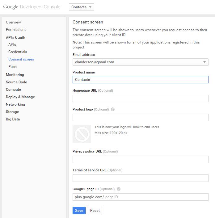 GoogleDevelopersConsoleAPIsAndAuthConsentScreen