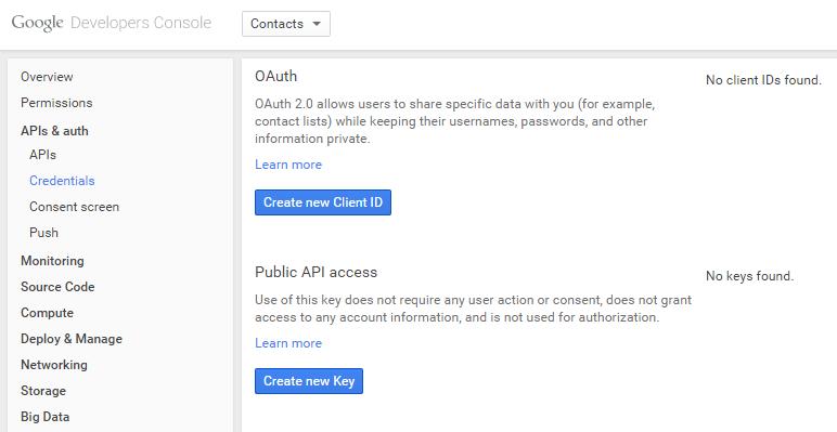GoogleDevelopersConsoleAPIsAndAuthCredentials