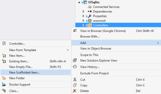 Entity Framework Core with SQLite Scaffolding – Eric L  Anderson