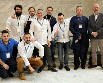 Grupo de Artesanos y Cocineros en Madrid Fusión
