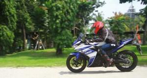 Test Yamaha R25