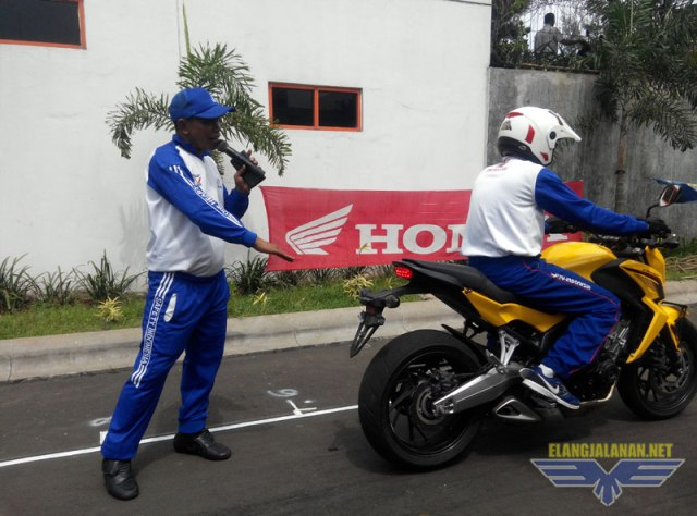 Safety Riding Honda