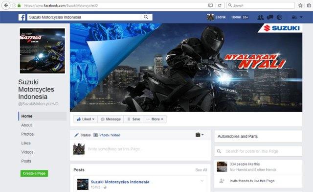 Fans Page Suzuki Motorcycles Indonesia