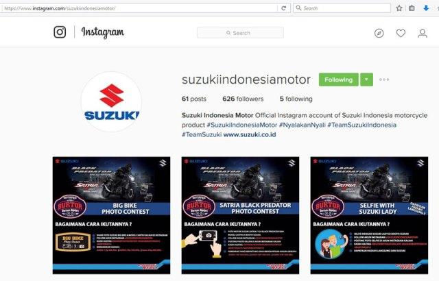 instagram suzuki motor