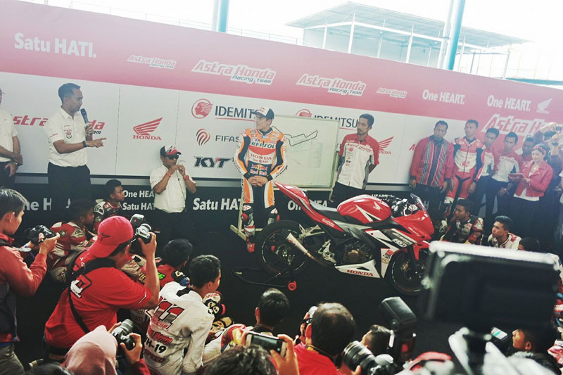 Meet and Greet Marc Marquez