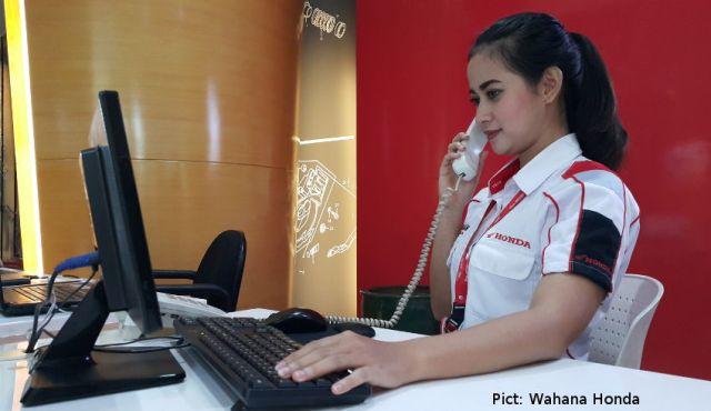 Booking Service di Wahana Honda