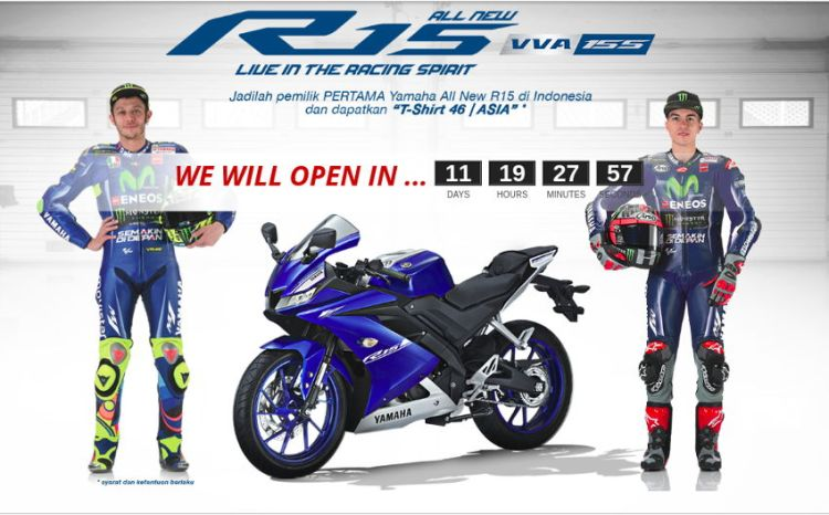 Booking Online All New Yamaha R15