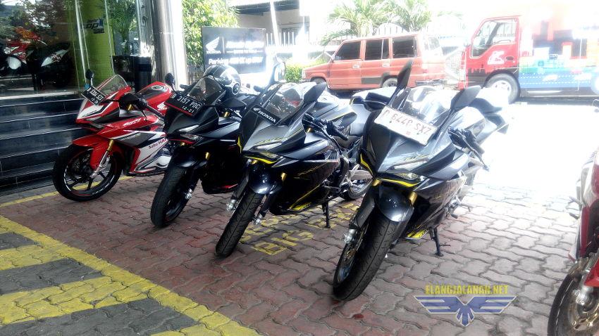 Test Harian CBR250RR