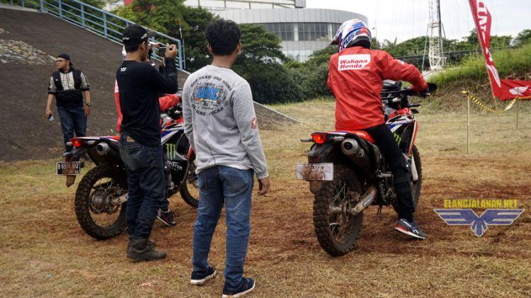 Wahana Honda Adakan Riding Experience Honda CRF250Rally