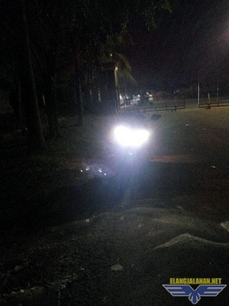sorotan lampu headlamp All New R15 V3