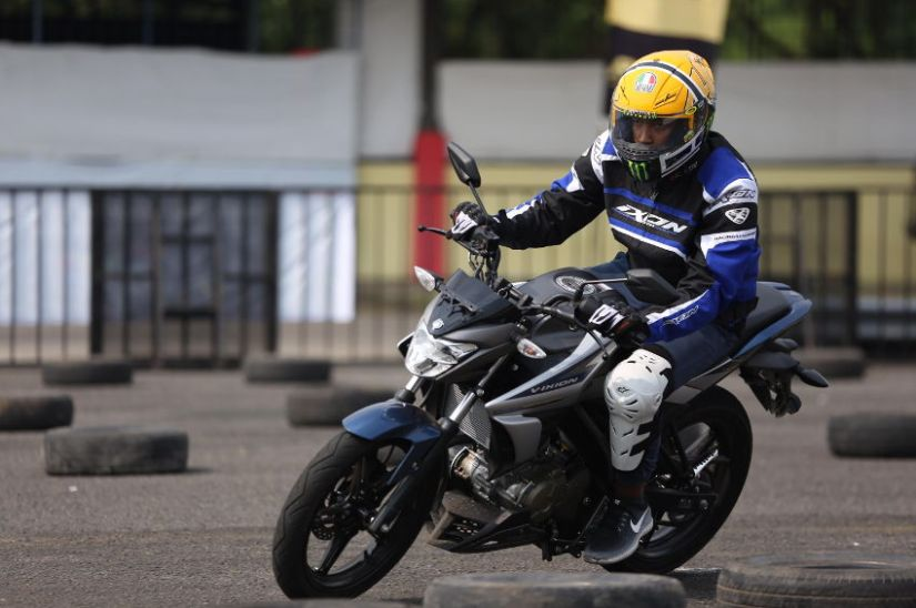 jajal All New Vixion di ajang Fun Riding Competition