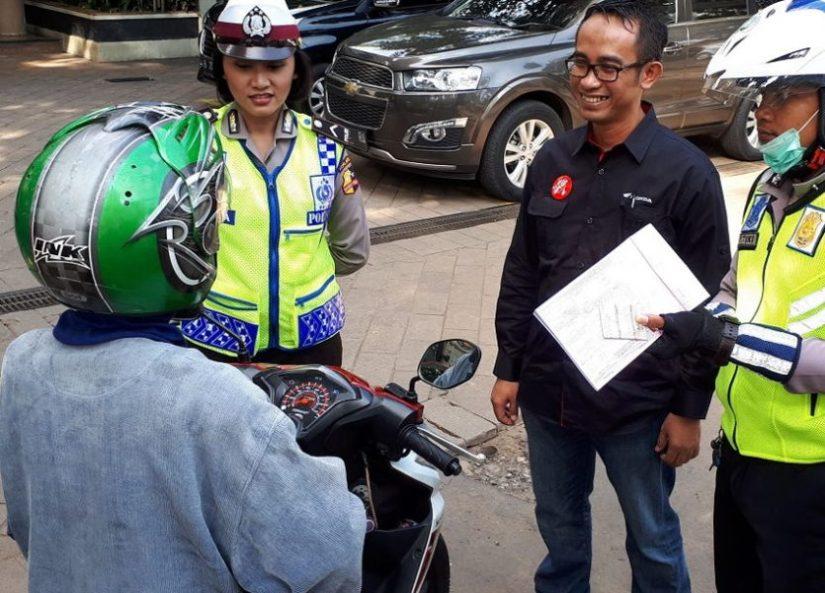 YAHM Turun ke Jalan Gelar Kampanye Simpatik Tertib Berlalu Lintas
