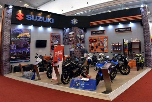 Penjualan Roda 2 Suzuki di GIIAS