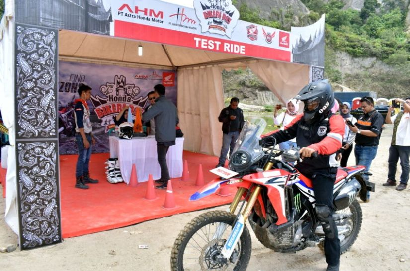 Honda Bikers Day Regional 2017 Perdana