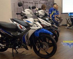 warna-warna baru Suzuki Smash FI dan Suzuki Address