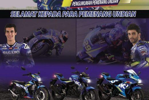 Pemenang Undian Suzuki Ready To MotoGP 2017