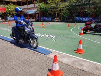 Yamaha Gelar Kompetisi Safety Riding tingkat SMA