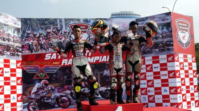 Hasil Lengkap Balap Honda Dream Cup Seri Jakarta 2017