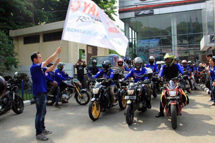 Touring Gabungan Komunitas Vixion se-Jabodetabek
