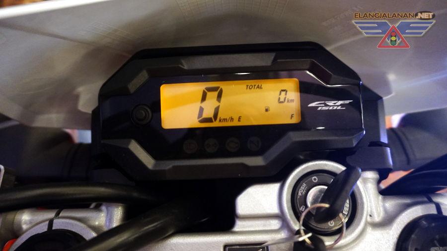 speedometer crf150l
