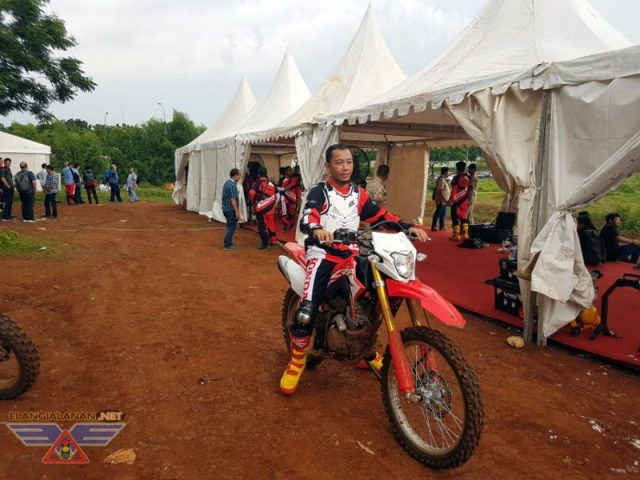 Test Ride New Honda CRF150L