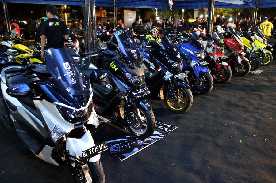 CustoMAXI Yamaha 2017 Area Sumatera Utara