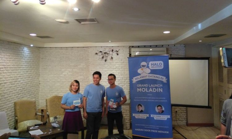 Grand Launching Moladin