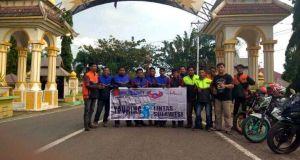 Rider Suzuki Satria Lakukan Touring Trans Sulawesi