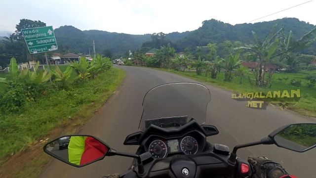 Jalur alternatif Jalan Cagak Subang - Malangbong