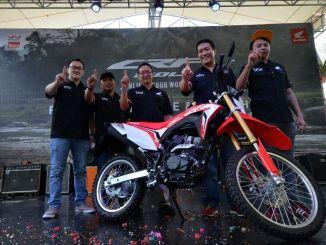 Launching New Honda CRF150L Wilayah Jakarta