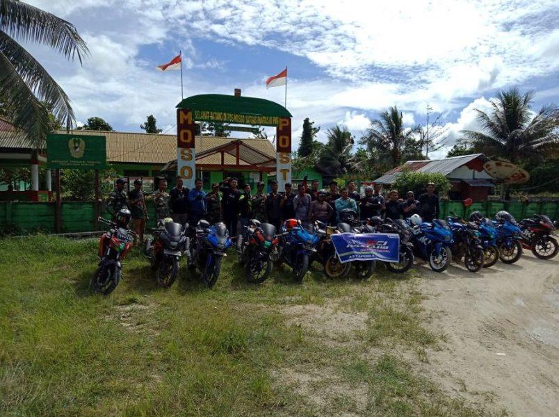 GSX Club Indonesia Berikan Donasi Untuk Warga Perbatasan Papua