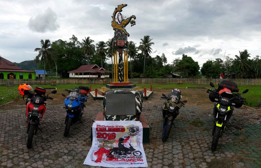 Bikers Suzuki Touring Road To Celebes 2018, Melewati 4 Provinsi