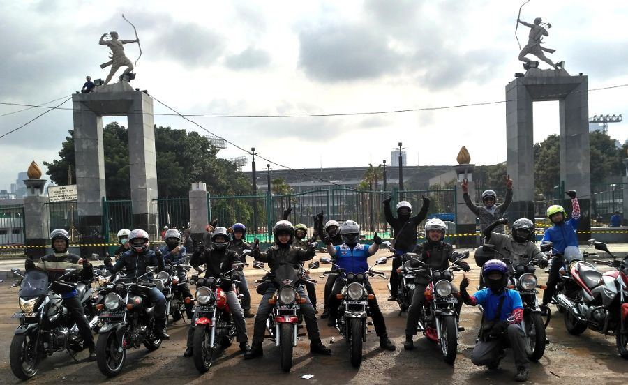 Sunmori Suzuki Super Star, Cara Bikers Suzuki Nikmati Ibukota