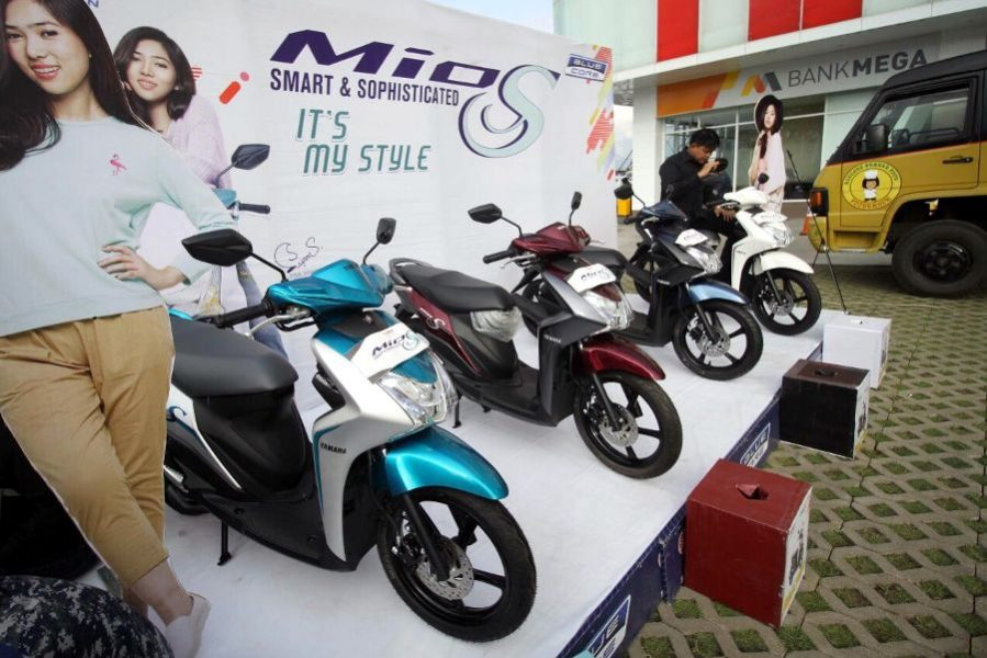Mio S Strong Black Menjadi Warna Favorit