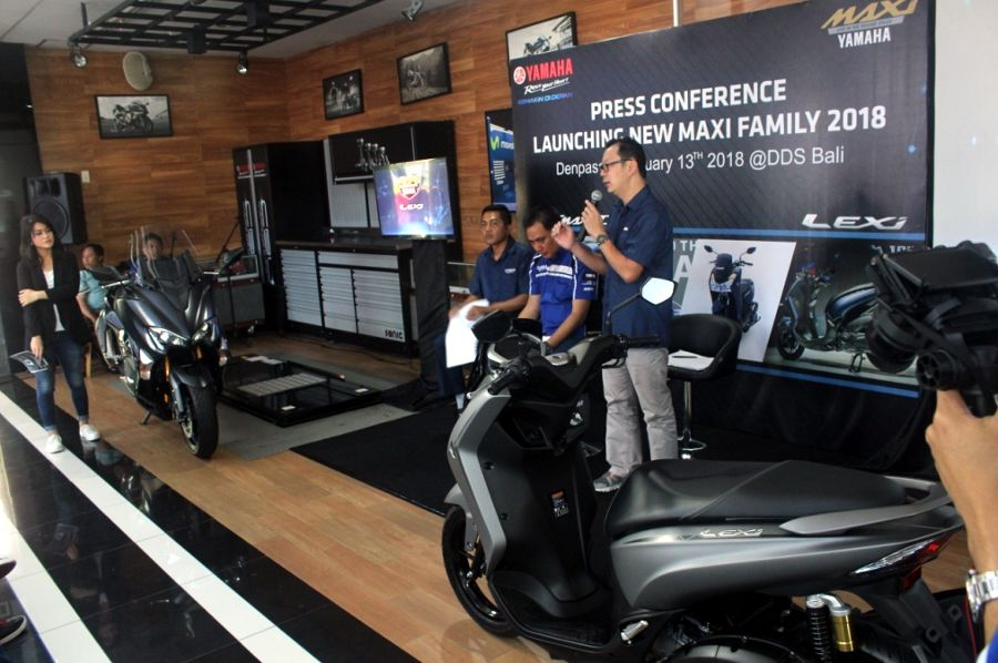 Yamaha Lexi Roadshow