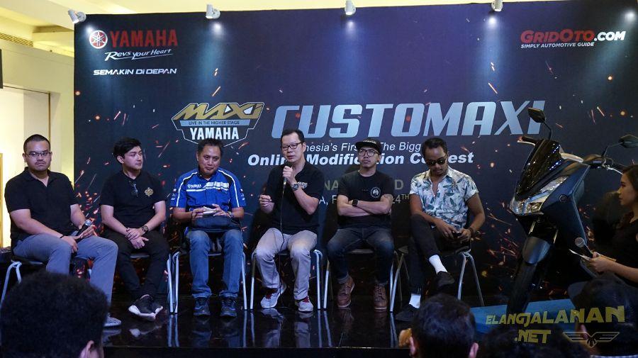 Final Yamaha Customaxi di Jakarta, Inilah Pemenang King of Maxi, Bawa Pulang 2 Motor