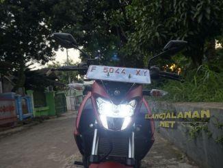 Penerangan Headlamp New Yamaha Vixion R