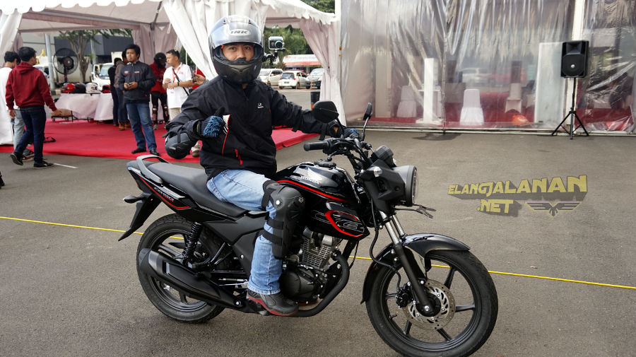 Test Ride Honda CB150 Verza 2018