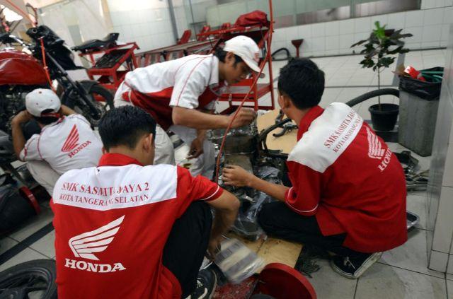 Kementerian Perindustrian Berikan Dukungan SMK Binaan Honda