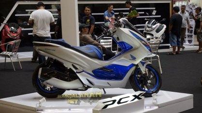 Launching Honda PCX 150 area Jakarta Tangerang