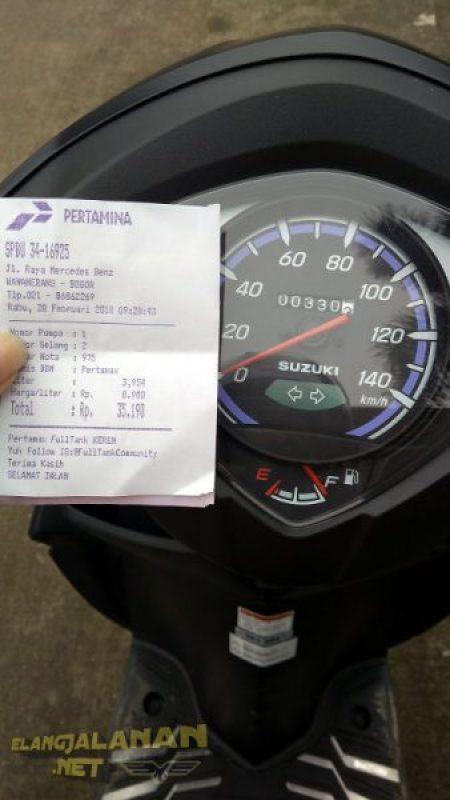 Konsumsi BBM Suzuki Address FI