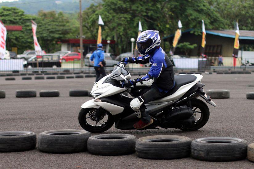 Fun Riding Aerox 155 di Sunday Race