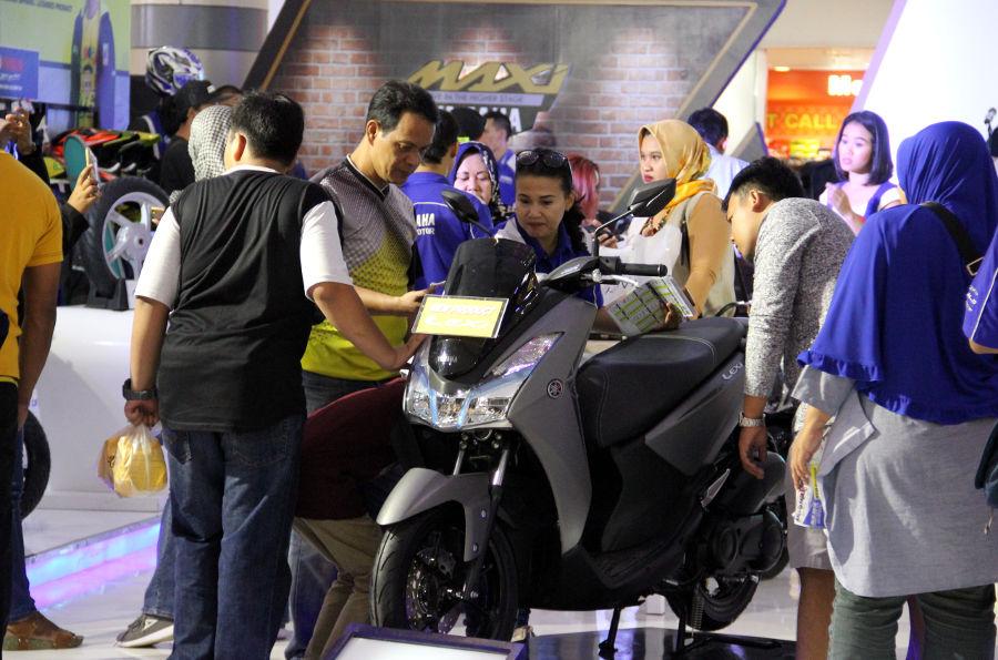 Jadi Orang Pertama Rasakan Sensasi Riding Yamaha Lexi