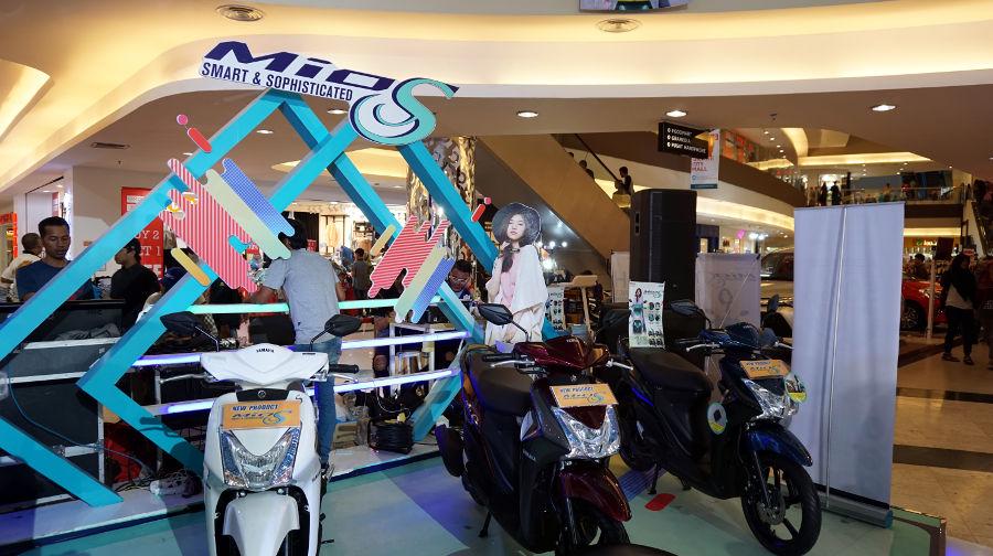 Blue Core Yamaha Motor Show Bali