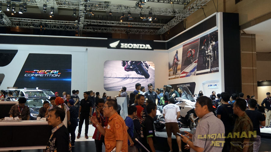 IIMS 2018: Ada 3 Motor Baru di Booth Honda, Menawarkan Kecanggihan Teknologi