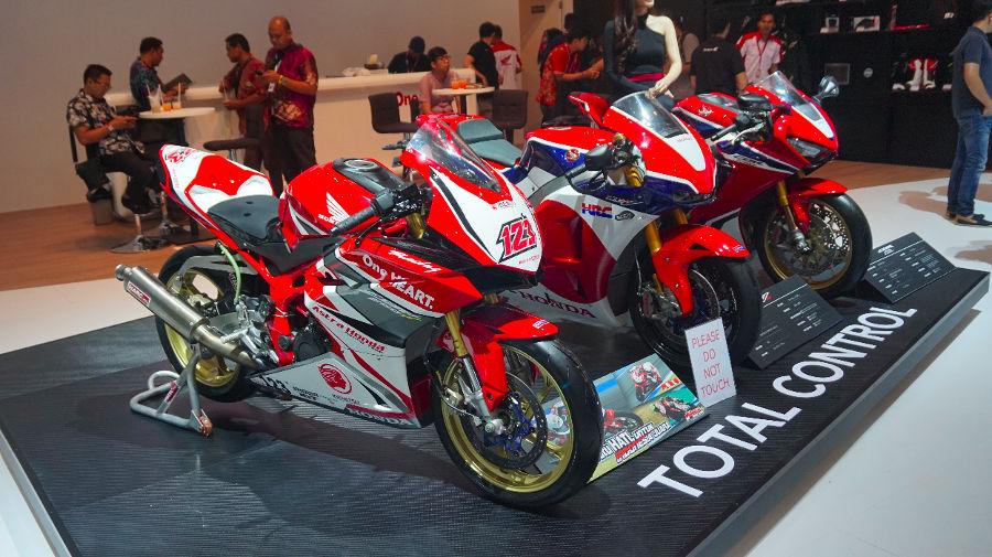 Motor Baru di Booth Honda